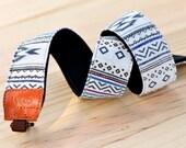 iMo White Navajo Camera Strap suit for DSLR / SLR