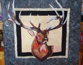 Wall hanging Elk Head
