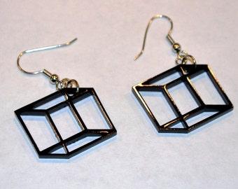 Optical Illusion 3D Cubes