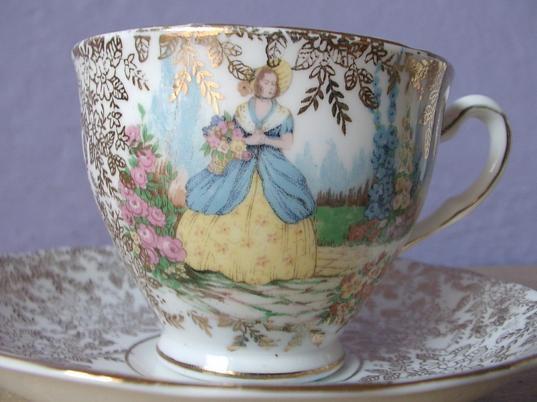 vintage teacup tea cup - photo #39