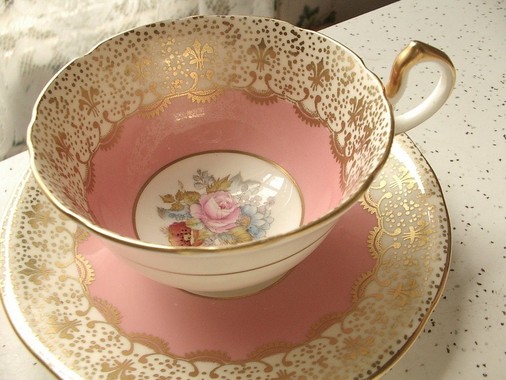 vintage teacup tea cup-#34