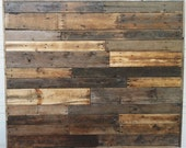 Reclaimed Wood Headboard Queen Size