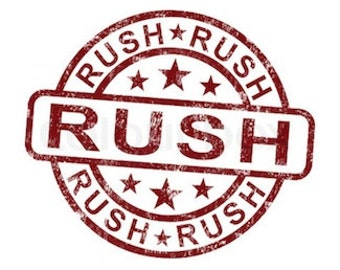 Rush Service- Ships Within 48 Hours