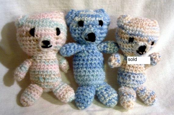 Bear, amigurumi, crochet