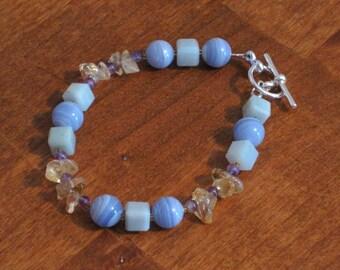 Pastel Gemstone Bracelet (B1077)