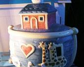 Noah's Ark Cookie Jar