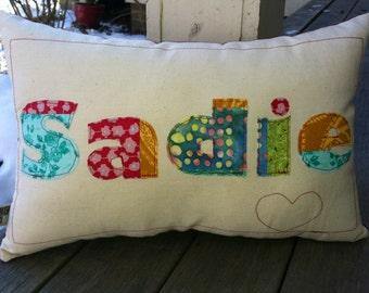 Custom Name Pillow