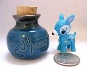 My Deer Moon Beams Miniature Porcelain Vase