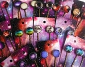 20 x WHOLESALE with Card Bobby Pins You Choose The Images-  23 Images To Choose From.