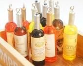 Miniature Wine Bottle Long Necklace - Cute Miniature Lover Gift Idea