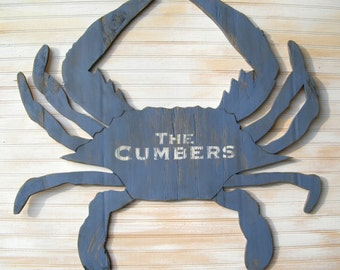 Just Custom Lettering Add-On (crab not included) Personalization, Company Name, Address Numbers, Monogram