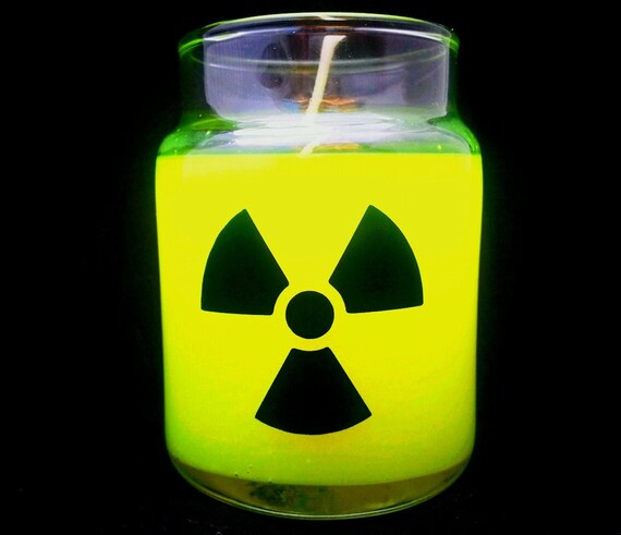 Glow in the dark radioactive
