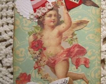 ACEO Card, Original Art Card, Mini Art Card