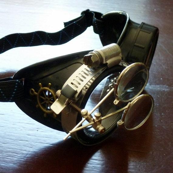 Victorian Steampunk goggles aviator victorian welding ...