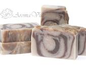 Soapnuts & Cocoa butter Handmade natural soap Cold process