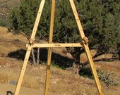 Tripod easel RESERVED for Mixtstitches