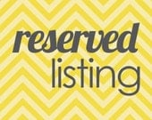 Reserved Listing For Candie Only