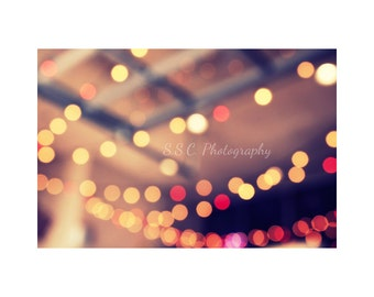 """Girly Photography. Dreamy Photo. """"Lights"""".. Bokeh. Surreal. Abstract. Circles. Red. Pink. Purple. Yellow. gold. Romantic. Glamourous."""