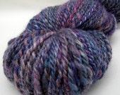 SALE - Handspun Handdyed Bluefaced Leicester Wool Yarn - 133 yards