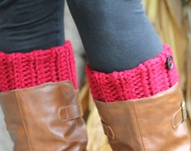 Womens Boot Cuffs, Womens Boot Toppers, Womens Boot Socks, Faux Leg Warmers, Peep Socks, Ankle Warmers, Textured and Stretchy