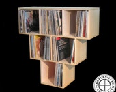 Record Album Storage Pyramid