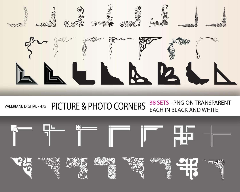 Clipart Photo Corners