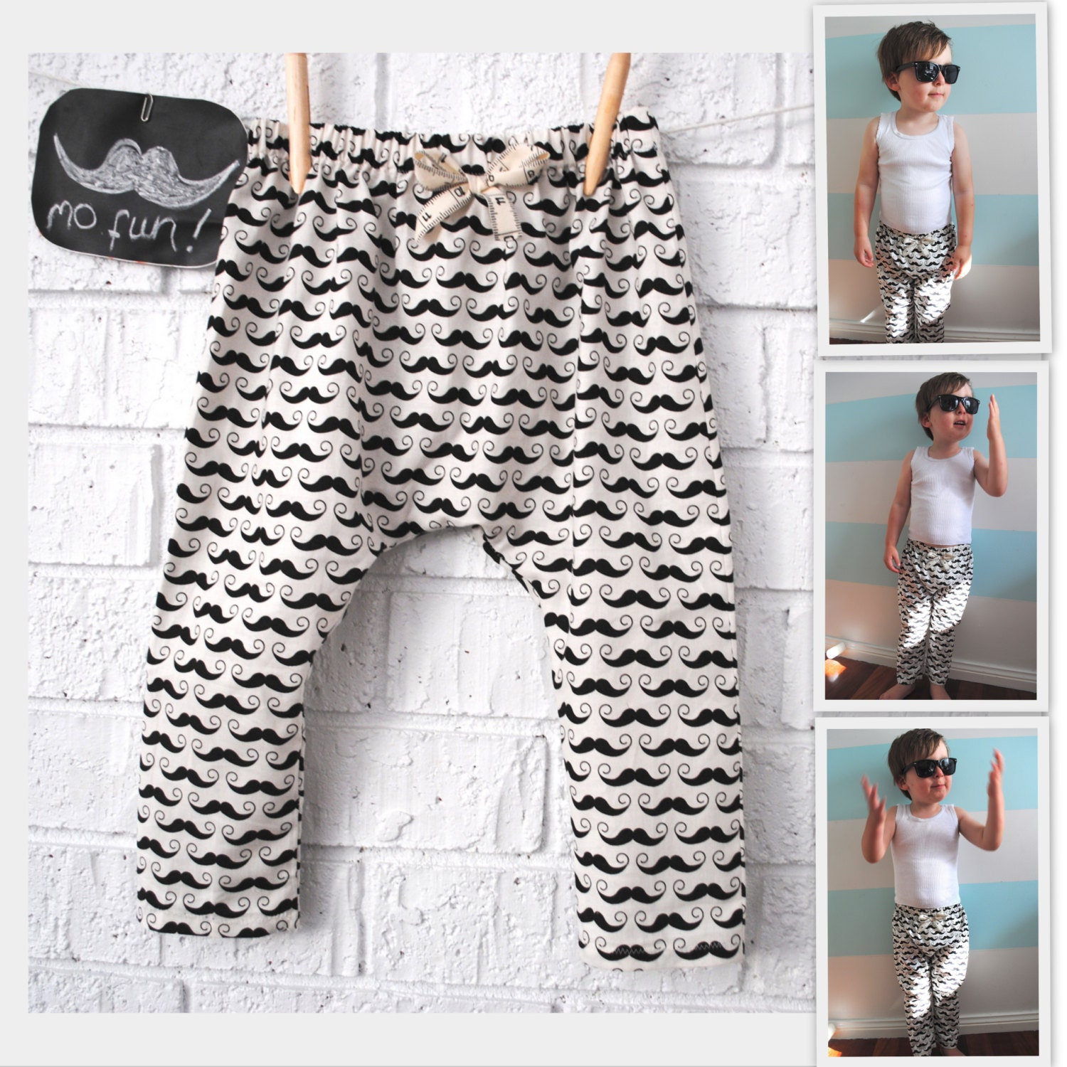 Make sure your little boy or girl looks super cool and stays comfy all day with a pair of kids' harem pants from our wide selection. Browse a variety of designs including animal .