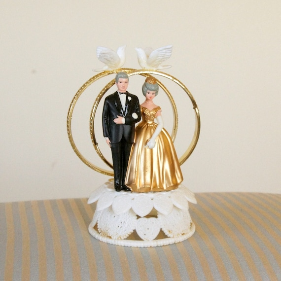 Cake Toppers For 50th Wedding Anniversary Cake Topper 50th Wedding