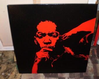 John Coltrane (red)