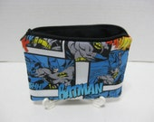 Batman Super Hero Zipper Pouch