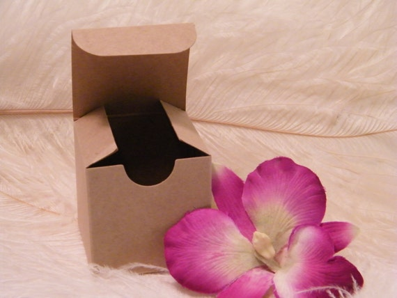 kraft gift boxes favor boxes small kraft natural box 2 x 2 x 2