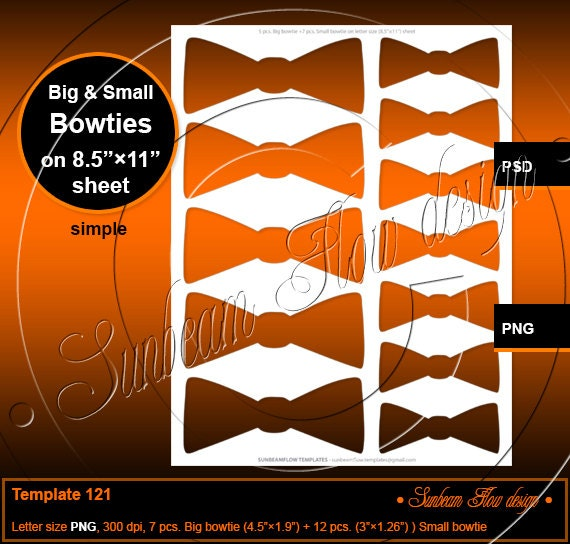 etsy shop policies template - instant download bowties template 121 printable bottle cap