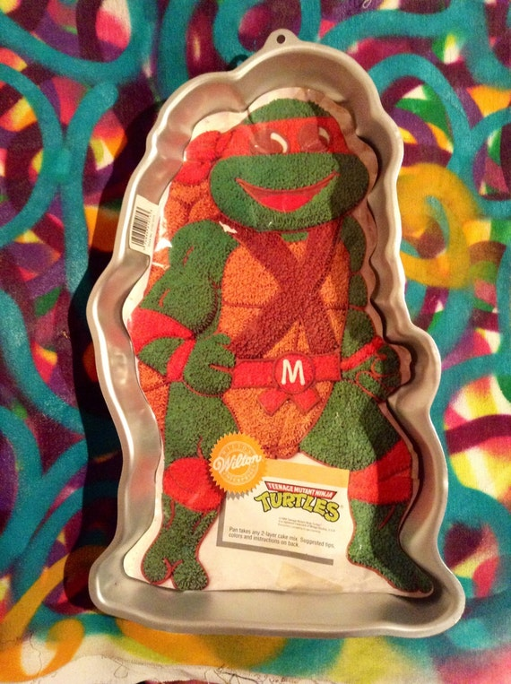 ninja turtle cake pan unavailable listing on etsy 6175