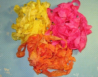 Happy Brights Hand Dyed Ribbon