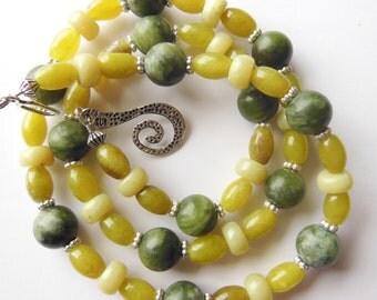 Olives in Lemon juice Necklace  394