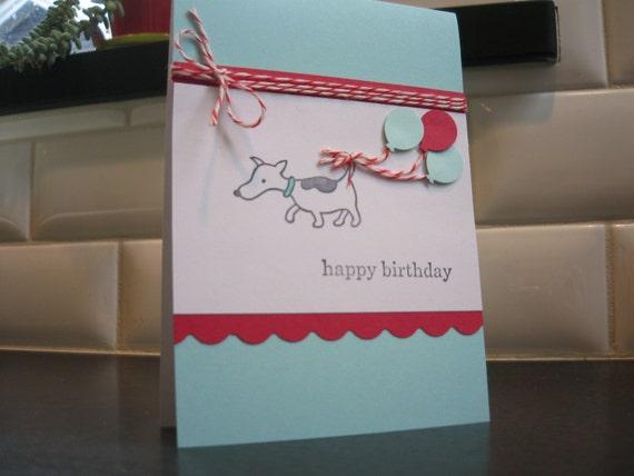Dog Birthday Card, Jack Russell