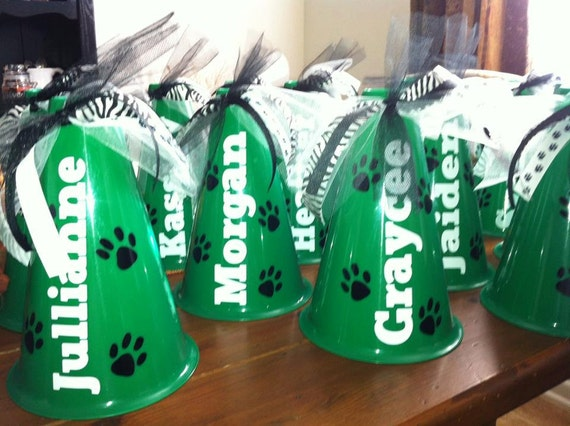 Personalized Megaphones - Team Gifts - Cheerleader - Cheer Party - Best Party Favors - Cheer Squad - Team Gifts