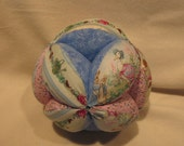 Baby Play Ball, Peter Rabbit/Beatrix Potter fabric, under 25 Easter gift, baby shower gift