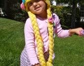 Rapunzel Crochet Hat Pattern PDF