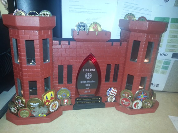 Items Similar To Engineer Castle Coin Holder On Etsy