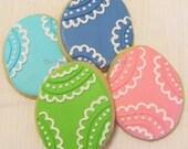 Easter Egg cookies 2 dozen