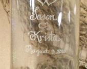 Personalized Cylinder Vase