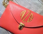 Personalized Monogrammed Clutch Purse several colors to choose From