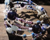 Borderline Steampunk Memory Wrap Bracelet (25% of item purchase donated to Levine Children's Hospital)