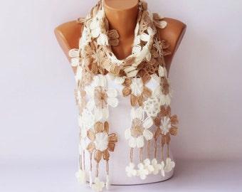 Crochet scarf , scarf ,woman scarf,gift