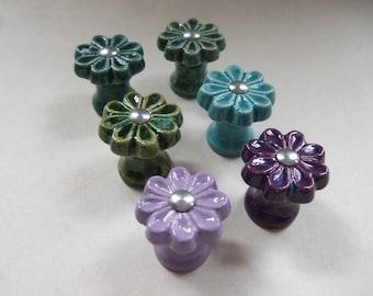 Flower Power Cabinet Knobs