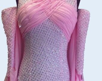 Ballroom Dance  Dress Pink    Ballroom  Dance  Dresses