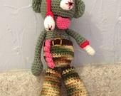 Zombie Amigurumi - Hand Crocheted - men - women - kids