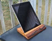 5th Anniversary Gift,  Wooden iPad Holder, Unique Birthday Gift For Him & Her