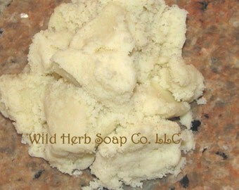 Unrefined SHEA BUTTER, 1 lb  (Ghana Fair Trade) - Creamy, Natural, Organic - AAA Grade, Top Shelf
